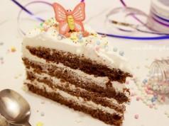 Čokoladna torta sa šlagom