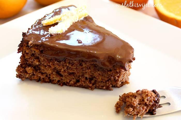 Čokoladna torta s narančom