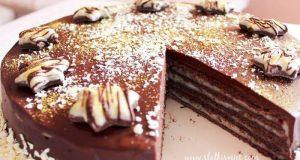 Mađarica torta s bijelom čokoladom