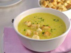 Krem juha od poriluka sa šafranom