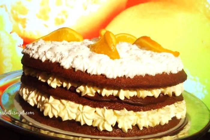 Jaffa torta ili čokoladna torta s narančom