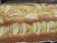 Mirinsni kolač s jabukama