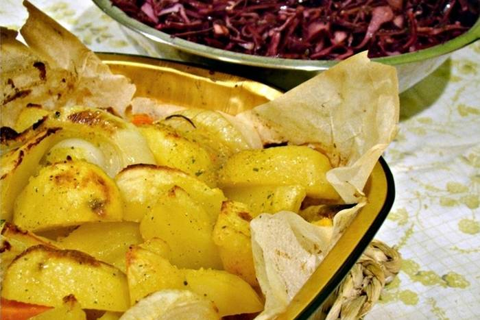 Krumpir u škartocu