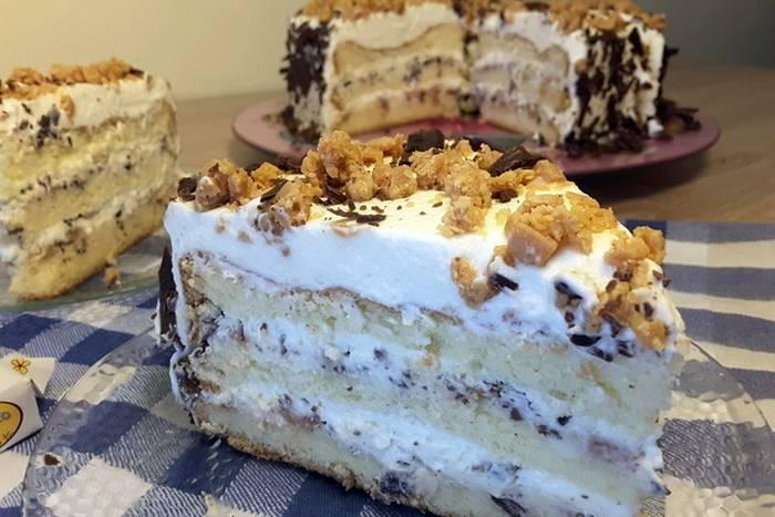 Karamel krem torta