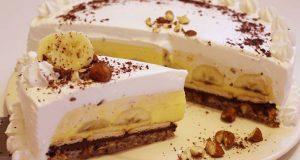 Nutella torta s bananama