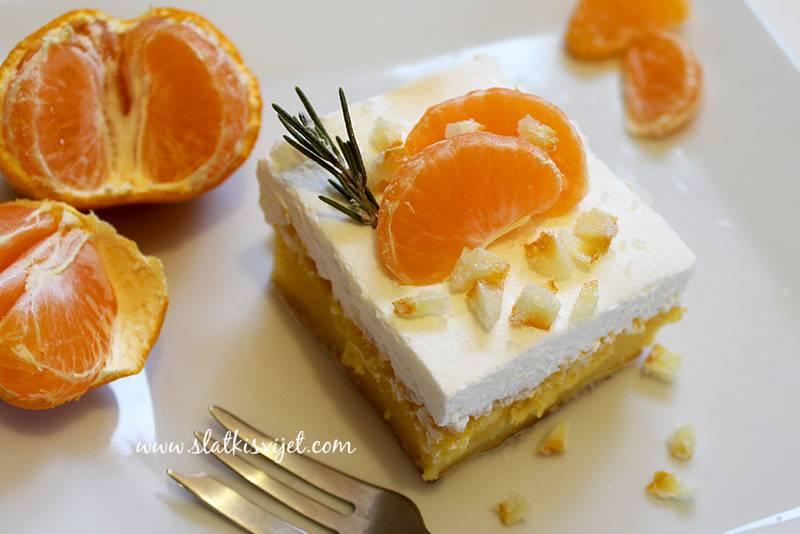 Voćne kocke s mandarinama