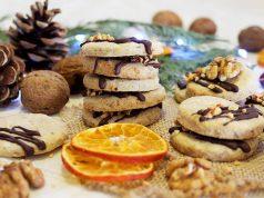Keksići s orasima, cimetom i narančom