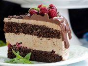 Čokoladna torta - Čokoladno malinasti oblak