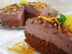 Torta od čokolade s aromom naranče: Jednostavna, lagana i nadasve fina!