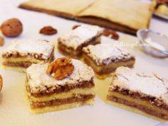 HAMBURGER ŠNITE: Jednostavan i ukusan starinski kolač